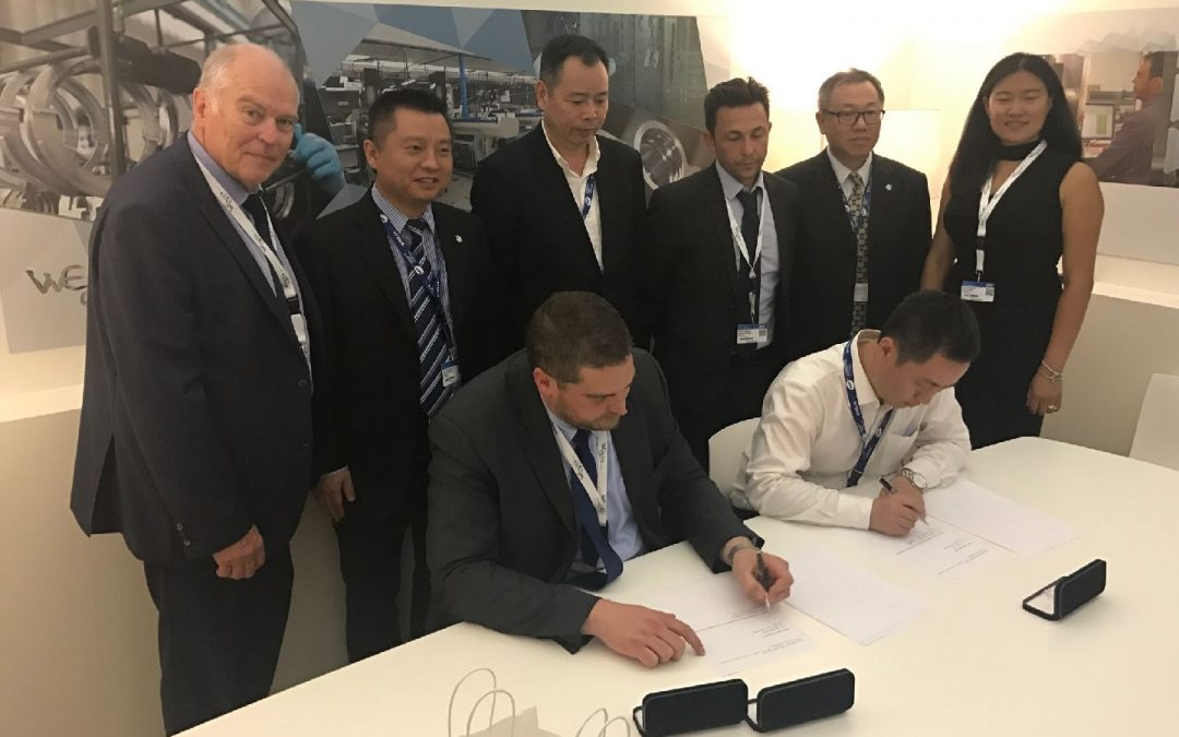 WEARE Group annonce la signature d'un accord majeur avec AVIC international Zhuhai et la ville de Zhuhai