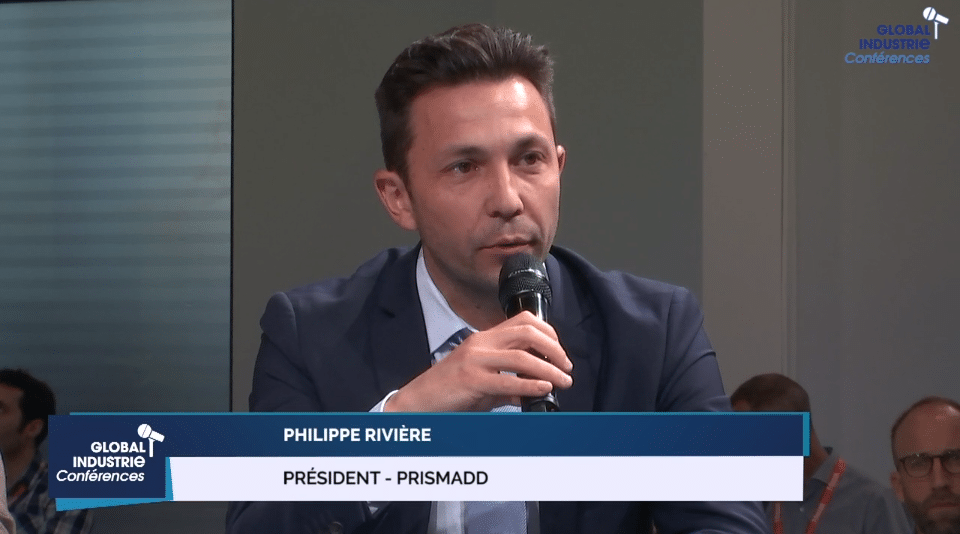 conférence global industrie fabrication additive Philippe Rivière