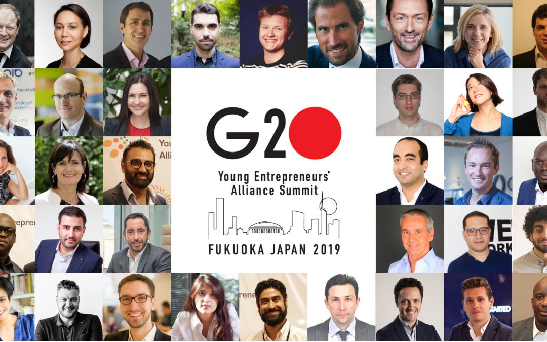 With Philipe Rivière, WeAre Group will be at G20YEA in Japan. [May 16-17]